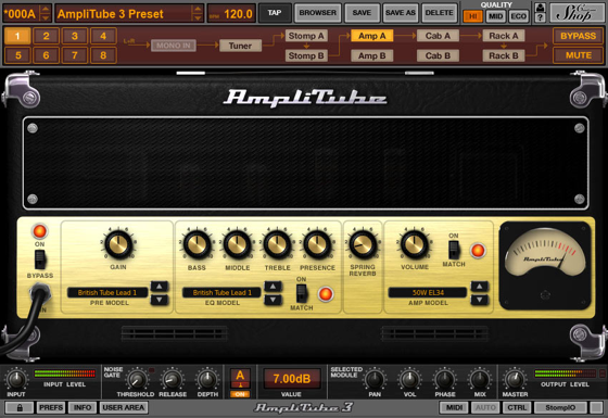 K Multimedia,Amplitube3