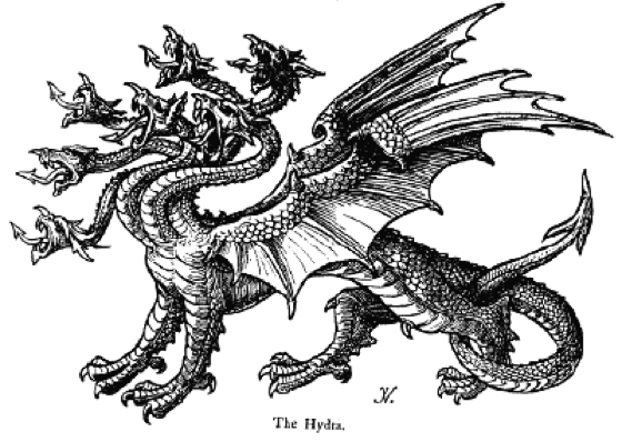 伝説の怪物 ハイドラ(Hydra)